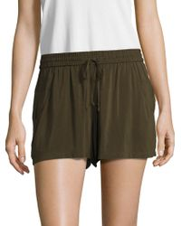 French Connection - Drawstring Shorts - Lyst