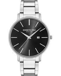 Kenneth Cole - Stainless Steel Bracelet Watch - Lyst