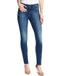 Jessica Simpson Curvy High-rise Skinny Jeans - Blue