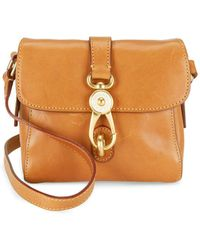 Dooney & Bourke - Mini Ashley Leather Messenger Bag - Lyst