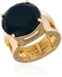 T Tahari Jet Stretch Ring - Metallic