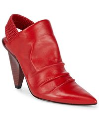 Sigerson Morrison - Jeanie Leather Shooties - Lyst