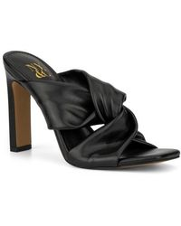 New York & Company Gabby Knotted Mule - Black