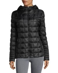 Vince Camuto - Zip-front Puffer Jacket - Lyst