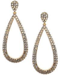 Nadri - Pave Crystal Tear Drop Earrings - Lyst