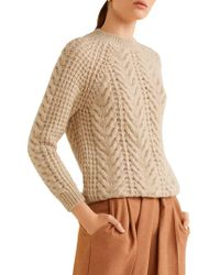 Mango Raglan-sleeve Sweater - Multicolour