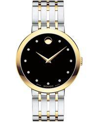 Movado Esperanza Two-tone Bracelet Watch - Metallic