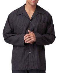Polo Ralph Lauren - Cotton Pajama Top - Lyst