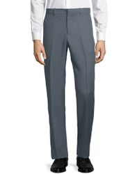 Perry Ellis Portfolio - Textured Dress Trousers - Lyst