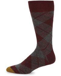 Goldtoe - Plaid Casual Socks - Lyst
