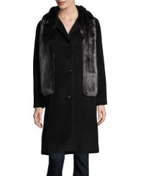 Jones New York - Faux Fur Stole Jacket - Lyst