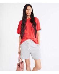 Lou & Grey Signaturesoft Super Plush Shorts - Red