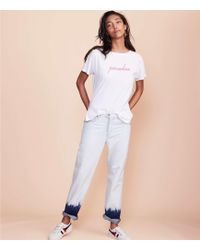 Lou & Grey - Tie Dye Boyfriend Jeans - Lyst