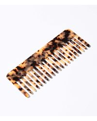 Lou & Grey Machete No. 1 Comb In Cognac - Multicolor