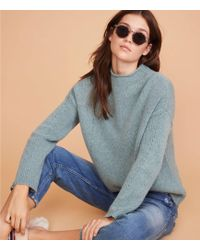 Lou & Grey - Pointelle Cashmere Sweater - Lyst