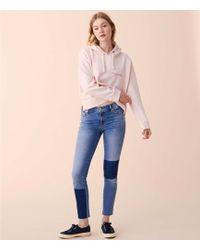 Lou & Grey - Blocked Skinny Jeans - Lyst