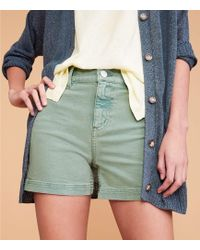 Lou & Grey High Waist Shorts - Multicolor