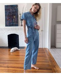 Lou & Grey Boyish Westley Coverall In The General - Blue