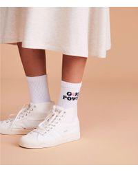 Lou & Grey - Style Club Girl Power Socks - Lyst