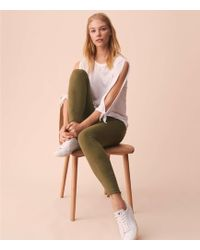 Lou & Grey - Petite Overdyed Skinny Jeans - Lyst
