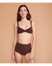 Lou & Grey Pale Swimwear Chestnut Bikini Bottom - Multicolor
