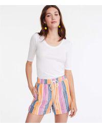 Lou & Grey Playa Rope Tie Shorts - Multicolor