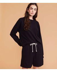 Lou & Grey Signaturesoft Super Plush Shorts - Black