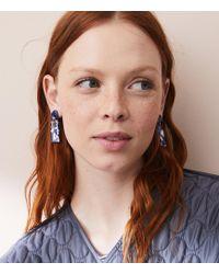 Lou & Grey | Machete Rectangle Dangle Earrings | Lyst