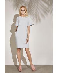 LOULU ET TU Eos Coccon Dress - Gray
