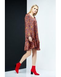 LOULU ET TU Grace Elegant Dress - Orange