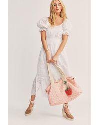 LoveShackFancy Oran Weekender Duffle Bag - Multicolor