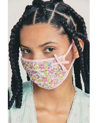 LoveShackFancy Follett Face Mask - Multicolor