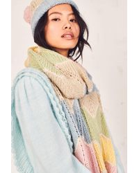 LoveShackFancy Evie Scarf - Multicolor