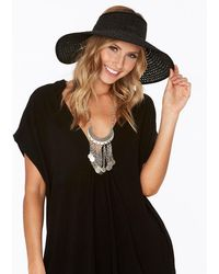 L*Space - Lewis Woven Roll Up Hat - Lyst