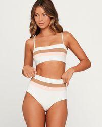 L*Space - Portia Stripe Bikini Bottom - Lyst
