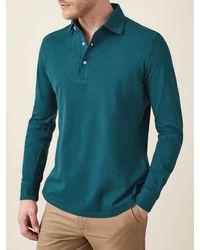 Luca Faloni Forest Green Brera Piqué Polo Shirt
