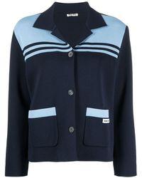 Miu Miu Jacket - Blue