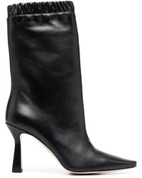 Wandler - Calf-length Leather Boots - Lyst