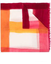 Faliero Sarti - Raw-cut Virgin Wool Scarf - Lyst