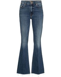 Mother The Weekender Flared Jeans - Blue