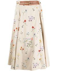 Tory Burch Skirt - Natural
