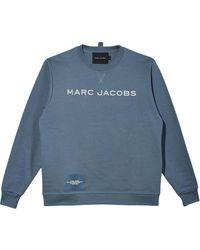 Marc Jacobs Felpa The Sweatshirt - Blu