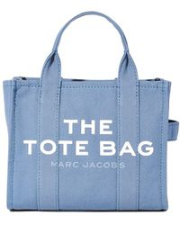 Marc Jacobs Traveller Tote Small Blue Shadow