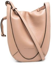 Ulla Johnson Lee Leather Pouch - Natural