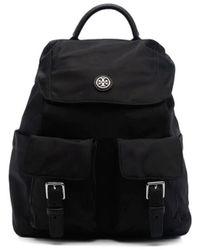 Tory Burch Virginia Flap Backpack - Black