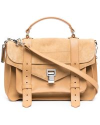 Proenza Schouler Satchel Crossbody Bag - Brown