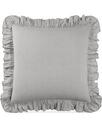 Lucky Brand Tile Seed Stitch Euro Sham - Gray