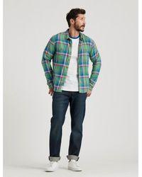 Lucky Brand Saturday Stretch Flannel - Green