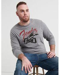 7ca15b6560fc Lucky Brand Fender Skull T Shirt in Black for Men - Lyst