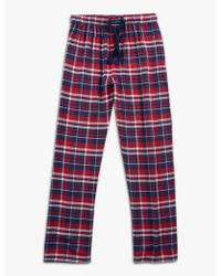 Lucky Brand - Cotton Viscose Flannel Pant - Lyst